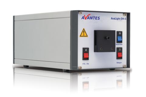 Avalight-DH-S Halogen light source - Avantes Lightsource