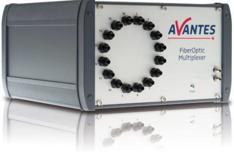 Avantes Fiber-Optic Multiplexer (FOM) - enables multi-point serial measurements